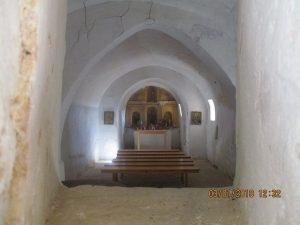 Interior ermita de San Benito