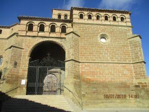 Abiego. Colegiata de San María La Mayor