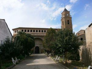 Azara. Iglesia de Santa Lucía