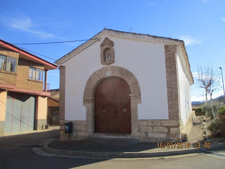 Paniza. Ermita de San Gregorio