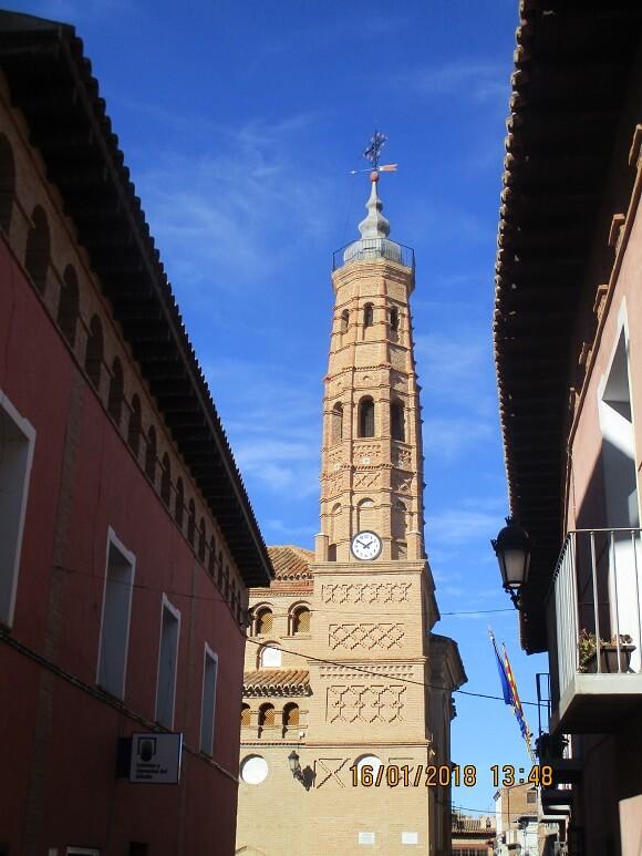 Paniza. Torre de Nuestra Señora de los Ángeles