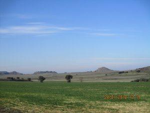 Llanos camino de Sesa