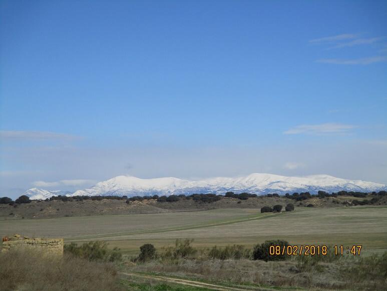 Sierra de Guara, bastante nevada