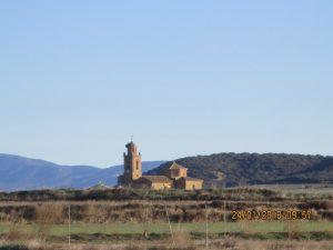 Fañanás, camino de Argavieso