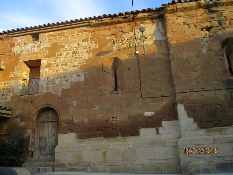 Cofita. Entrada ermita La Magdalena