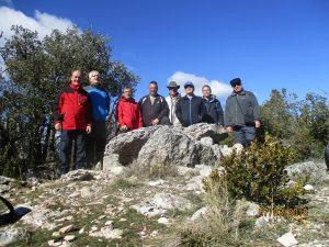 En el dolmen del Mas de Abad
