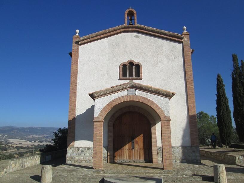Azanuy. Ermita Santa Bárbara