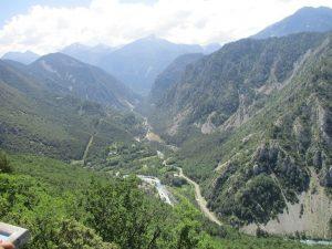Punto de encuentro de los ríos Cinqueta y Cinca