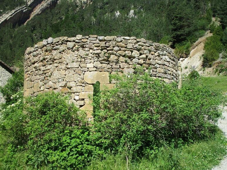 San Nicolás de Bujaruelo. Restos ermita