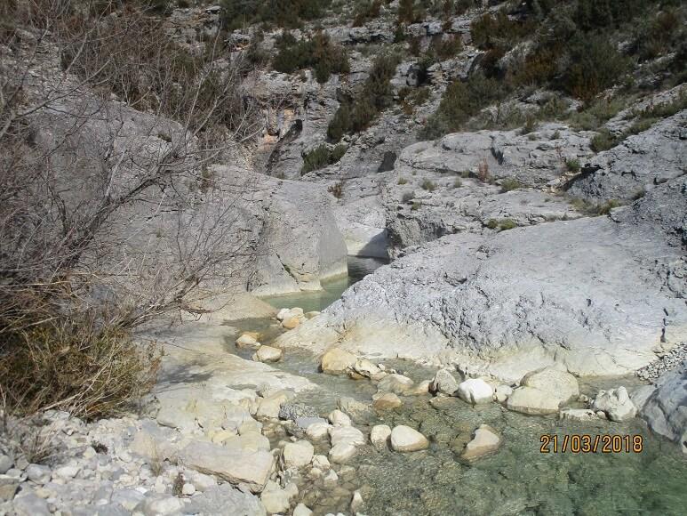 Río Vero. Almazorre