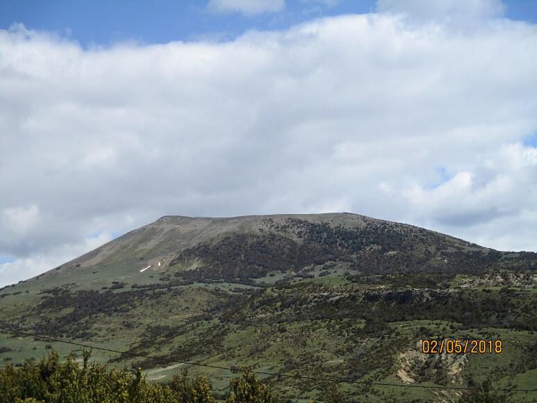 Pico Oturia desde Santa Orosia