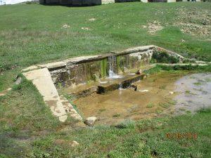 Santa Orosia. Surgencia de agua