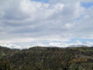 Santa Orosia. Monte Perdido nevado al fondo