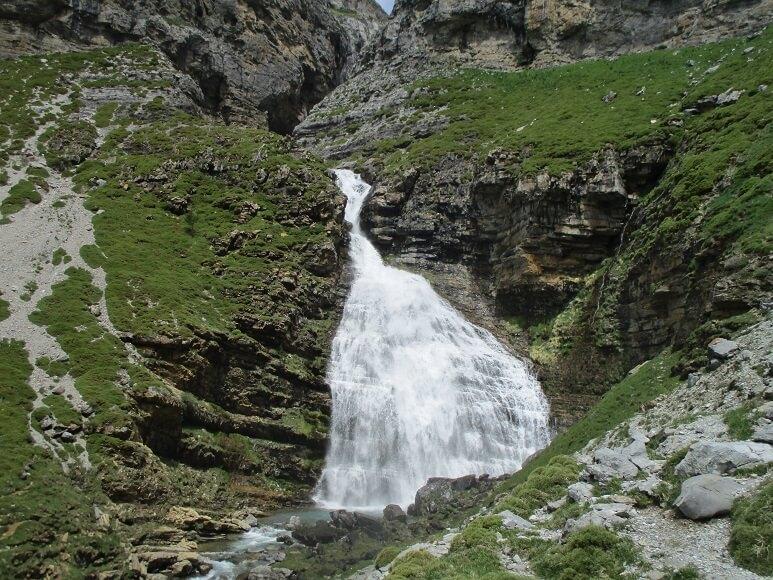 Valle de Ordesa. Cascada de la Cola de Caballo