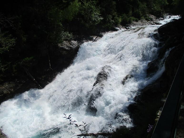 Río Arazas. Cascada Abetos