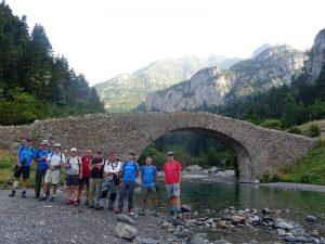 San Nicolás de Bujaruelo. Puente sobre el río Ara