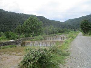 Barranco de Arás canalizado