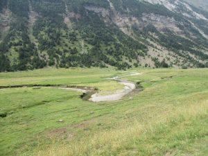 Los meandros del río Otal