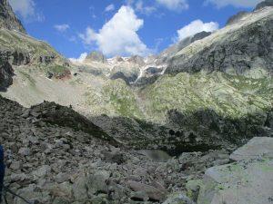 Anfiteatro glaciar y La Forca de Remuñe