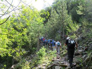 Por la senda del barranco Surri