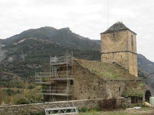 Jánovas. Iglesia de San Miguel