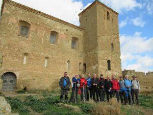 En el castillo de Montearagón