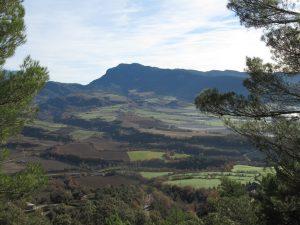 El pico Campanué y la sierra de Pallargüelo