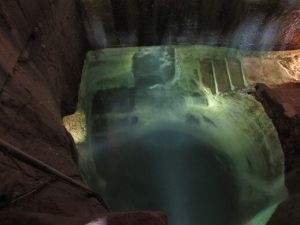 Laluenga. Manantial del Pozo fuente