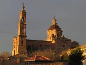 Cadrete. Monasterio de Santa Fe