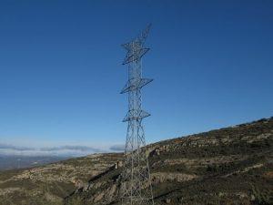 Torres eléctricas 'Aragón - Cazaril'