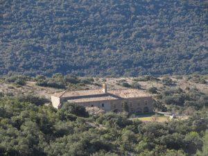 Santuario de La Carrodilla, subiendo al Forau del Cocho