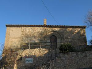 Lascellas. Ermita de San Miguel