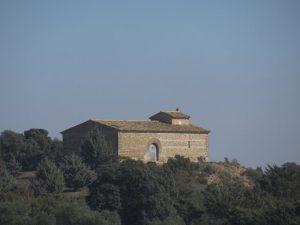 Lascellas. Ermita de San Antón