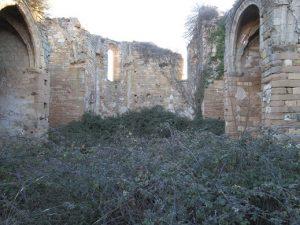 Interior del convento de Linares