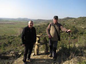 De Valpalmas a los Aguarales. Hitos de piedra
