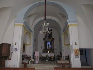 Interior del templo de la Virgen de Herrera