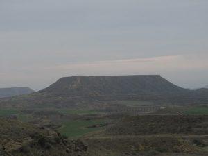 Cerro testigo. El Tormillo