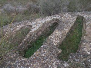 La Torraza. Tumbas antropomorfas