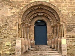 Portada de El Tormillo en la iglesia de San Martín, en Lérida
