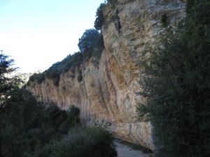Rodellar. Zona de escalada