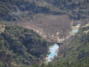 Puente de Pedruel en el río Alcanadre