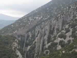 Camino de Las Almunias. Agujas de Las Palomeras