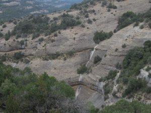 Camino de Las Almunias. Barrancos