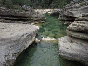 Río Balcez - Isuala. Tranco de las Olas