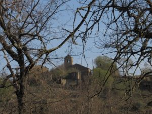 Chiriveta. Camino de la ermita del Congost