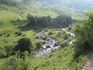 Valle de Guarrinza. Río Aragón Subordán