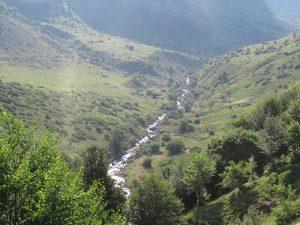 Río Aragón Subordán. Valle de Guarrinza