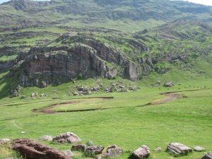 Meandros en el Valle de Aguas Tuertas