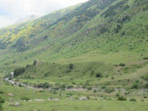 Valle de Guarrinza. Terrazas