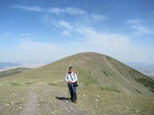 El Pico Moncayo, al fondo